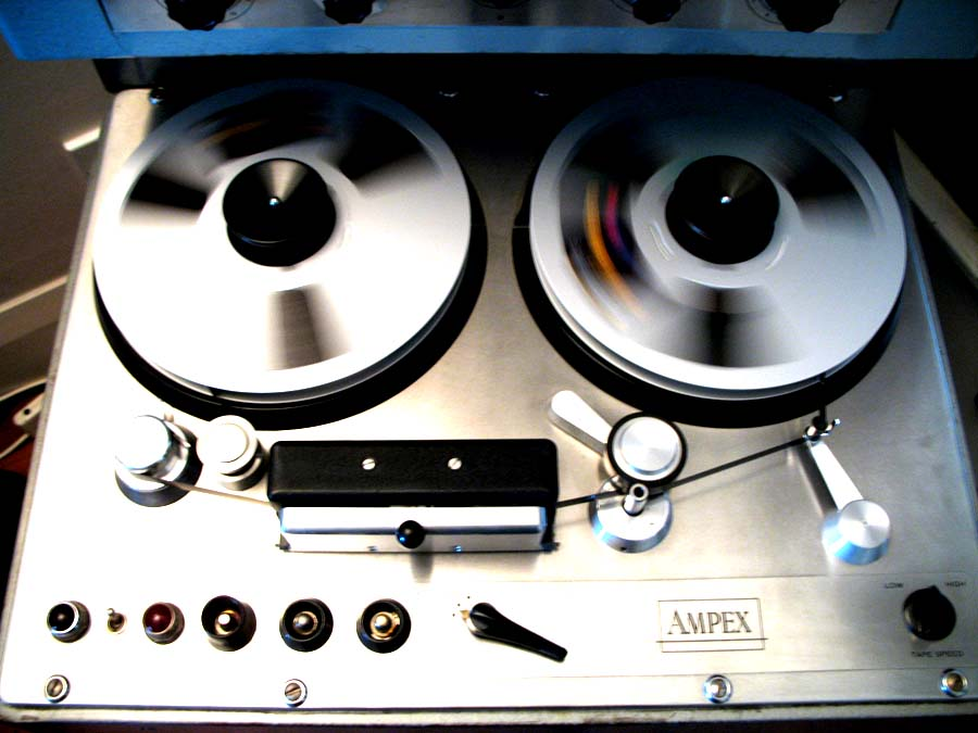 ampex 300 deck photo 2